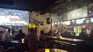 It may look like your average sports bar, but it definitely is not.