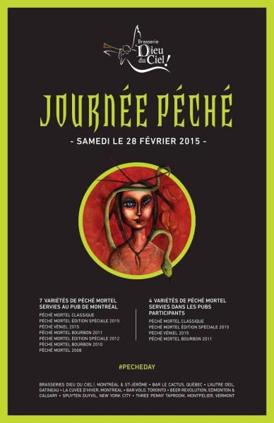 Péché day poster